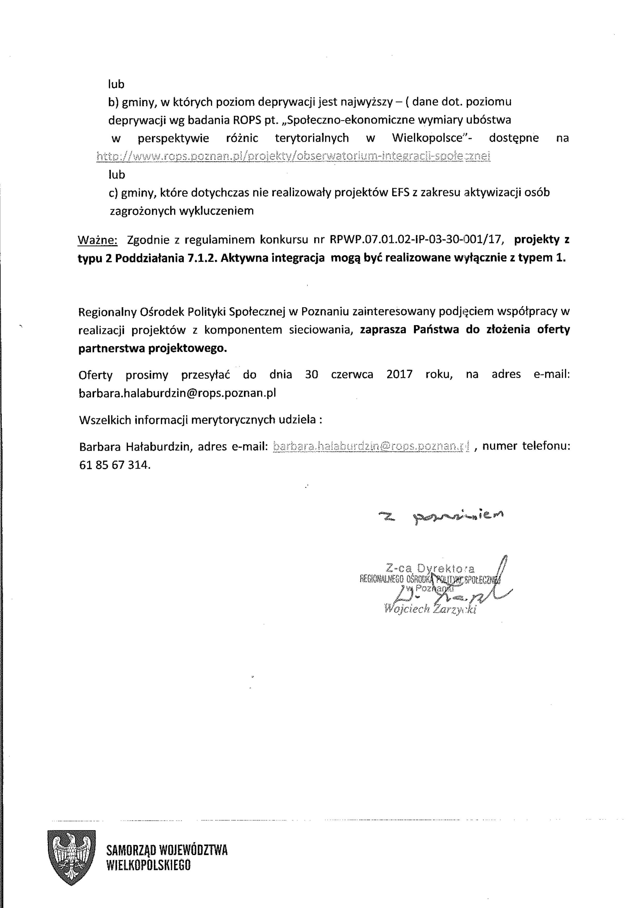 Aktualności Regionalny Ośrodek Polityki Społecznej W Poznaniu