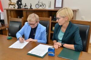podpisanie porozumienia ze strony ROPS w Poznaniu